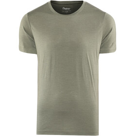 Bergans Oslo Wool - T-shirt manches courtes Homme - olive